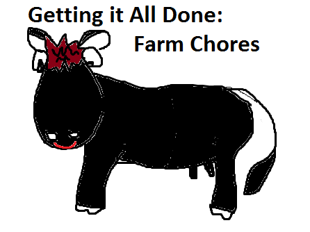 Getting It All Done:  Farm Chores–Winter