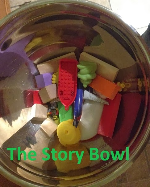 Enhancing Creative Story Telling: The Story Bowl
