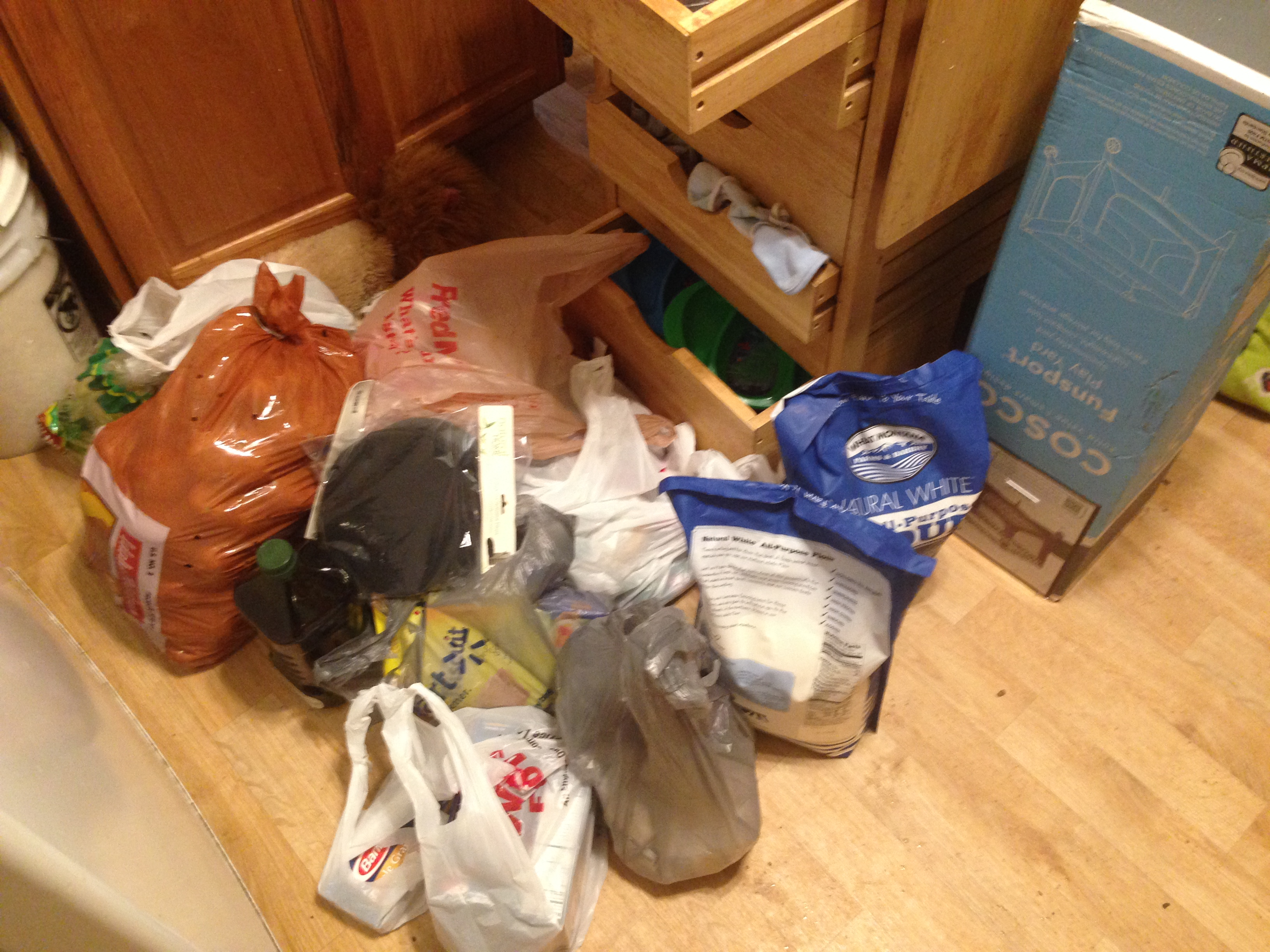 Preparing for Baby Part 3: Stocking the Kitchen