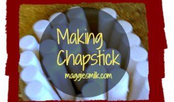 Making Chapstick