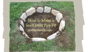 How to Make a Rock Ring Fire Pit