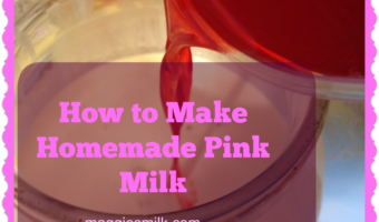How to Make Homemade Pink Milk