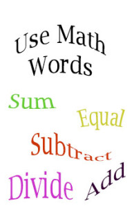 Use-math-words