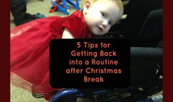 5 Tips for Getting Back into a Routine