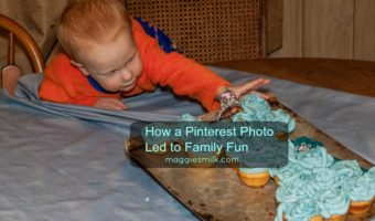 How a Pinterest Photo Led to Family Fun