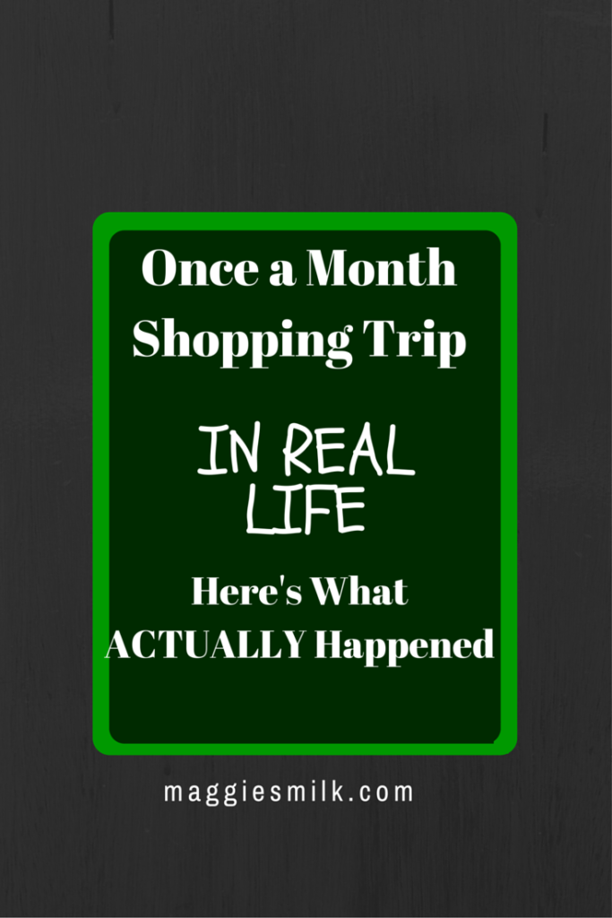 shopping in real life