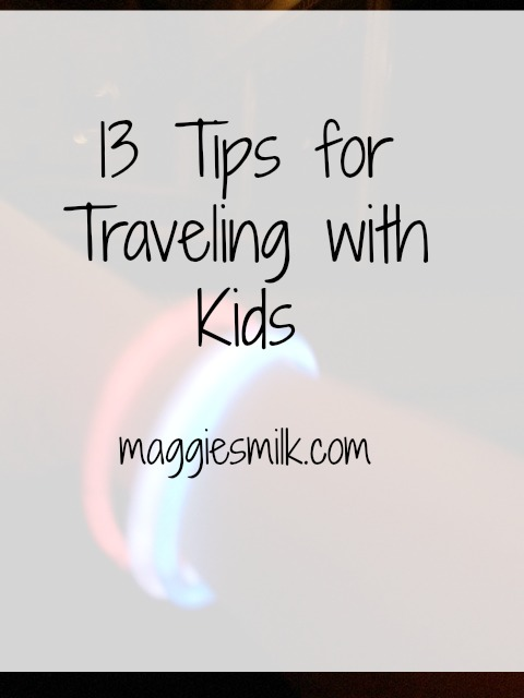 Are you traveling with kids this summer? Here are 13 tips to make it go smoothly!