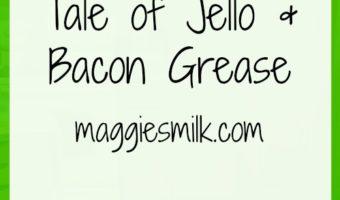 The Unfortunate Tale of Jello & Bacon Grease