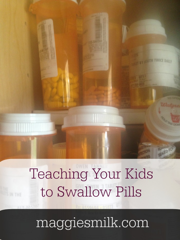 Teaching your kids to swallow pills can be a challenge. Here's how I did it.