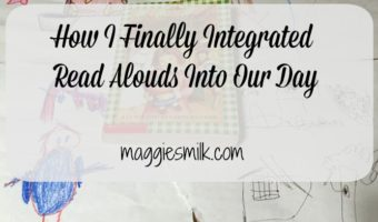 How I Finally Integrated Read Alouds