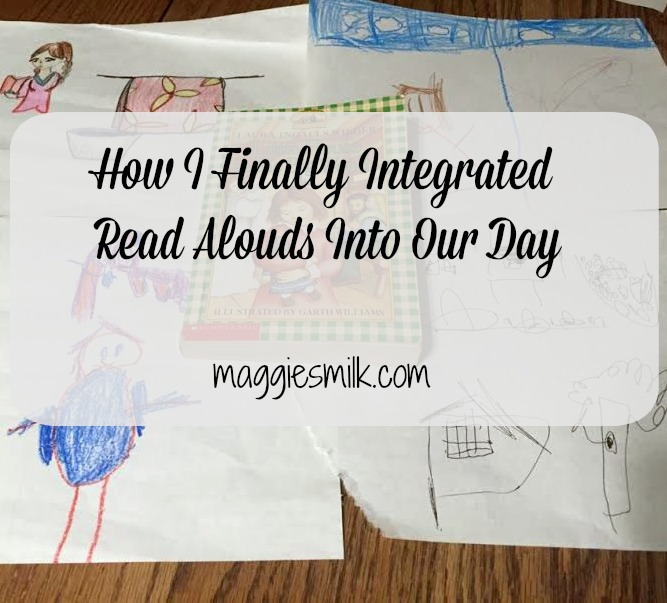 I've struggled to integrate read alouds for many years. Here's why, and how I finally made it work.