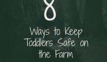 8 Ways to Keep Toddlers Safe on the Farm