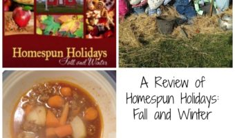 A Review of Homespun Holidays: Fall and Winter