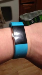 My FitBit helps with staying active in winter!
