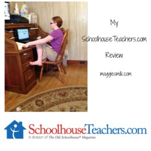 Check out my review of SchoolhouseTeachers.com. It's a great homeschooling resource for families!