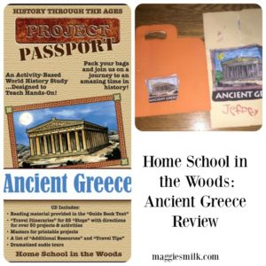 An honest review of HISTORY Through the Ages Project Passport World History Study: Ancient Greece
