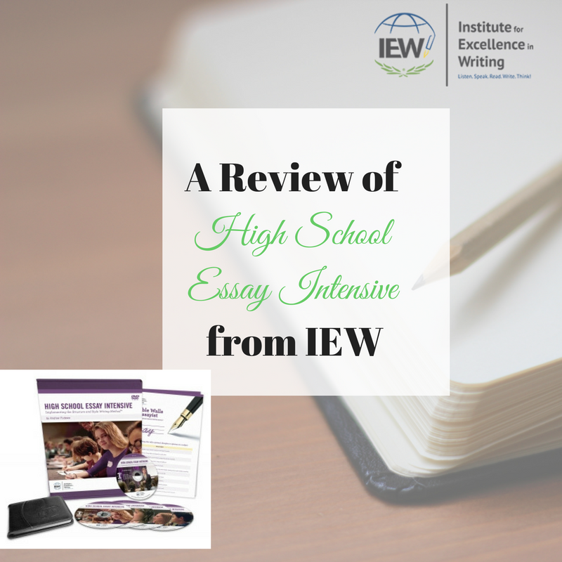 high school essay intensive iew