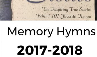 Hymn Memory Plan: 2017-2018 Edition