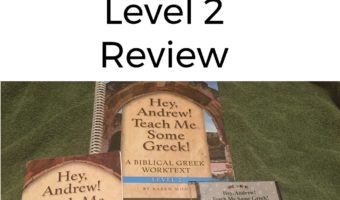 Hey, Andrew! Teach Me Some Greek Level 2: Review