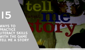 15 Ways to Practice Literacy Skills with Tell Me a Story
