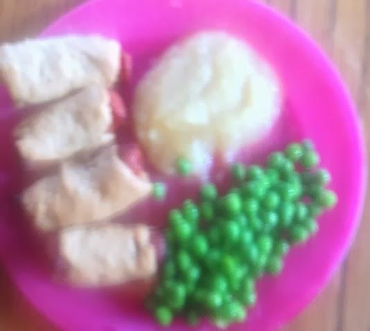 Monday's Lunch Menu