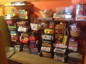 board games are a perfect kid activities after baby!