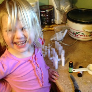 Excuse the hair--Sydney seems to enjoy it in her eyes since she takes out every rubber band, barrette, etc. that we try.