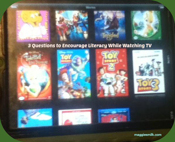 3 Questions to Encourage Literacy While Watching TV