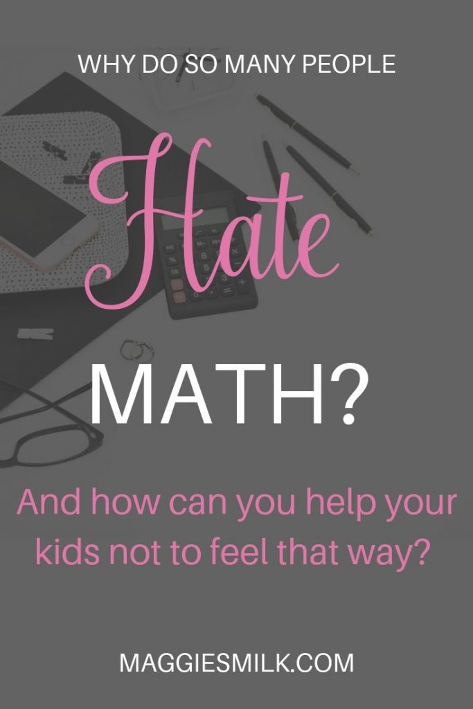 Why do so many people hate math?