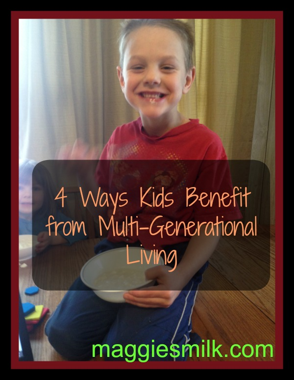 4 Ways Kids Benefit from Multi-Generational Living