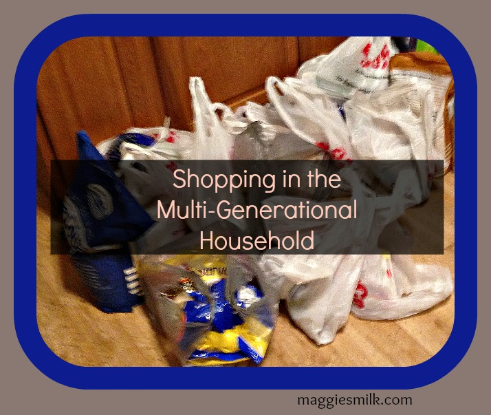 Shopping in a Multi-Generational Household