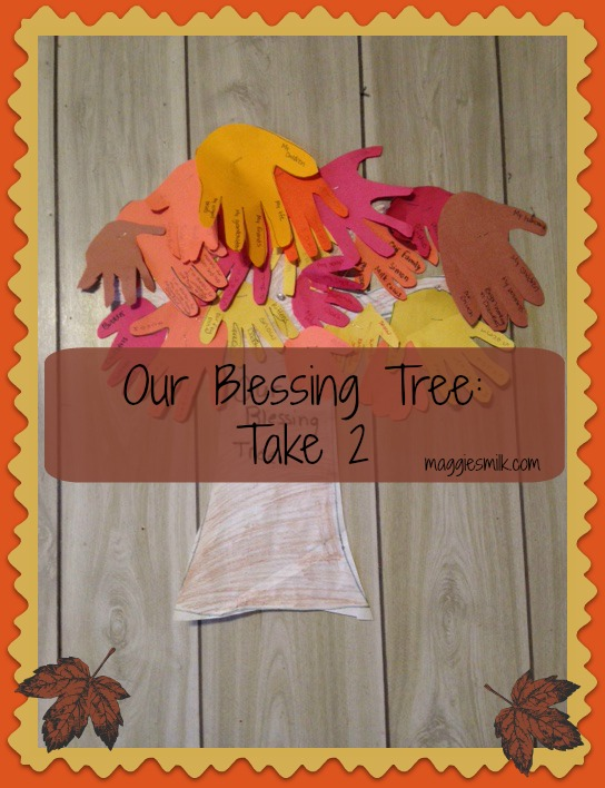 Our Blessing Tree: Take 2