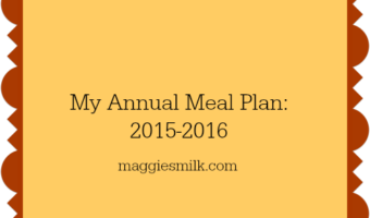 annual meal plan