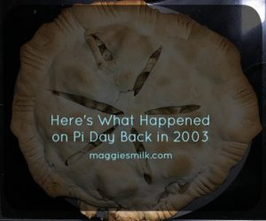 Blogging reflections 2016: Pi Day