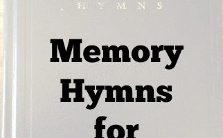 Here's our selection of Memory Hymns for 2016-2017. I'm looking forward to committing these great songs to memory with the kids!