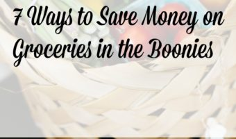 7 Ways to Save Money on Groceries in the Boonies