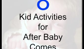 If you have other kids at home, you need some kid friendly activities for after baby comes. Here are 8 that my kids will use.