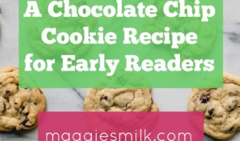 A Chocolate Chip Cookie Recipe for Early Readers