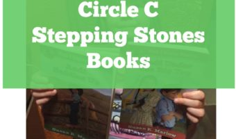 A homeschool review of Circle C Stepping Stones books.