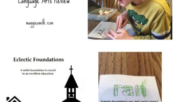 Eclectic Foundations Level B Language Arts Review