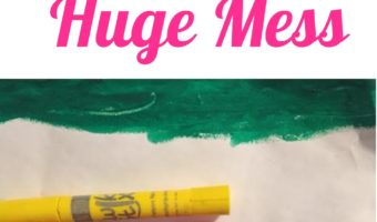 How to Let Your Toddler Paint without a Huge Mess   Review