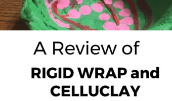 A Review of Rigid Wrap and CelluClay Quik-Sculpting Kit