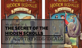 My Review of The Secret of the Hidden Scrolls Books 1 & 2