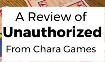 A Review of the Card Game Unauthorized by Chara Games