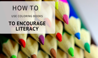 How to Use Coloring Books to Encourage Literacy