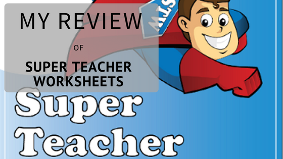 My Review of Super Teacher Worksheets - Maggie\'s Milk