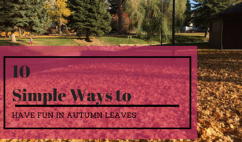 10 Simple Ways to Have Fun in Autumn Leaves