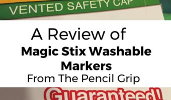 A Review of Magic Stix Washable Markers from The Pencil Grip