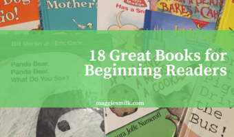 18 Great Books for Beginning Readers