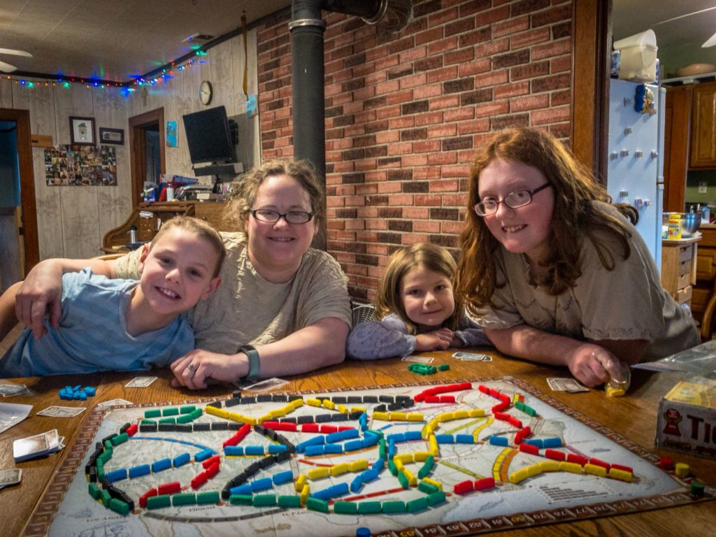 Unplugged family time is more fun with great games like this one!